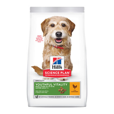 Hill's Science Plan Youthful Vitality mini adult + 7 1,5 kg