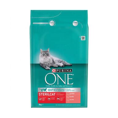 Purina One Sterilcat Gato Esterilizado Salmão 3 kg