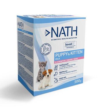 Leche maternizada Nath Puppy & Kitten