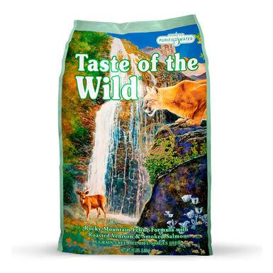 Taste of the Wild Feline Rocky Mountain veado e salmão