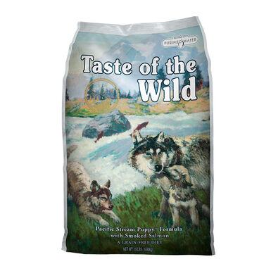 Taste of the Wild Pacific Stream Puppy salmão ração para cachorros