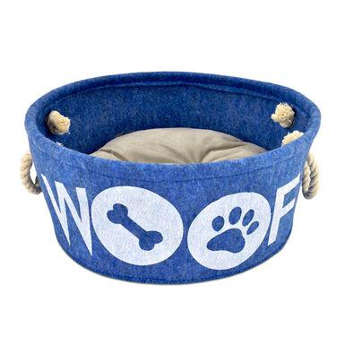 Cama Atelier Woof Azul 35
