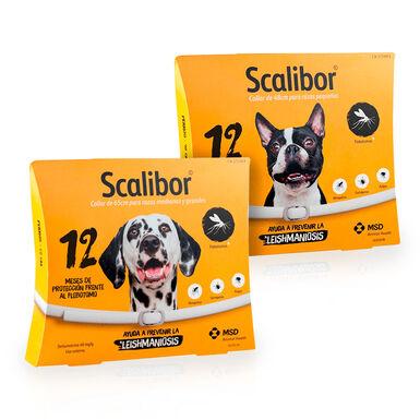 Scalibor coleira desparasitante para cães 48cm + 65cm Pack Poupança
