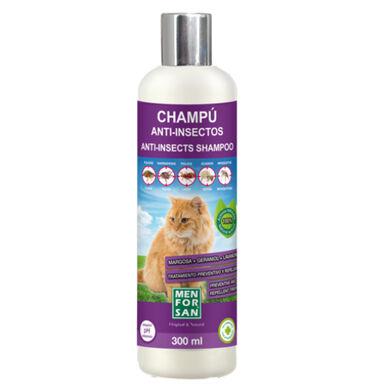 Menforsan champú para gatos repelente parásitos