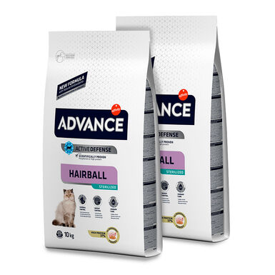Affinity Advance Feline Sterilized Hairball pavo y cebada - 2 x 10 kg