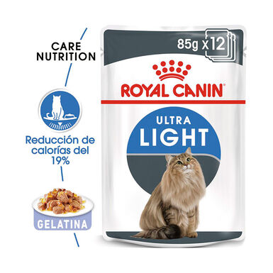 Pack 12 Saquetas Royal Canin Feline Ultra Light 85 gr