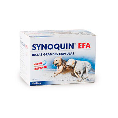 Condroprotector Synoquin EFA para perro de raza grande 120 comprimidos