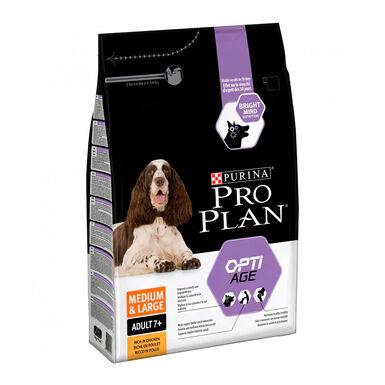 Purina Pro Plan Adult 7+ Medium & Large OptiAge pollo 14 kg