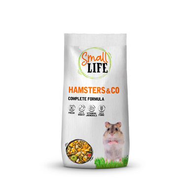 Alimento Premium Kiwoko Start para hamster 850 gr