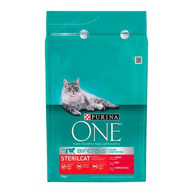 Purina One Feline Adult Esterilizado Vaca e trigo