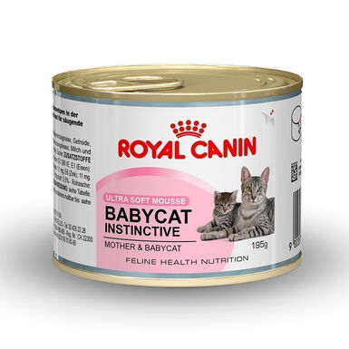 Pack 12 Latas Royal Canin Babycat Instinctive 195 g