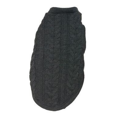 Suéter de trança Outech cor cinza para Cão
