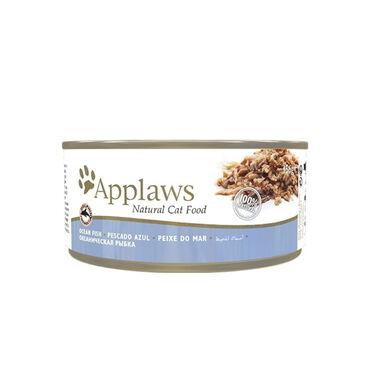 Applaws Cat Pescado Azul lata comida húmeda para gato 70gr