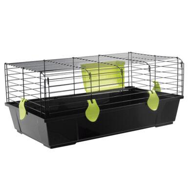 Voltrega mediana con puerta frontal jaula conejos