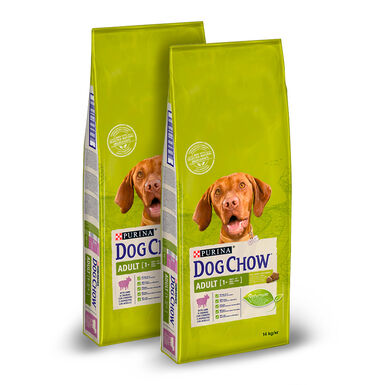 Dog Chow Adult Adult Borrego - 2x14 kg Pack Poupança