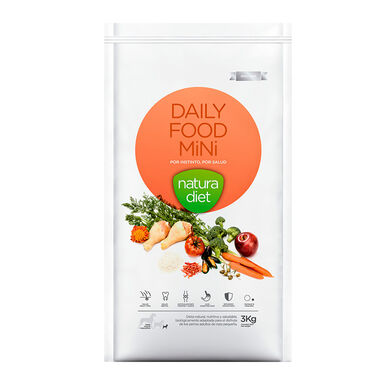 Natura Diet Daily Food Frango alimento para cães adultos mini 3 kg