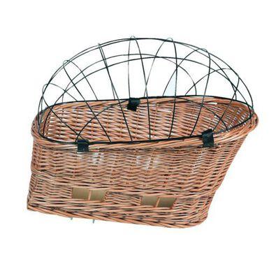 Karlie cesta de mimbre para bicicleta.