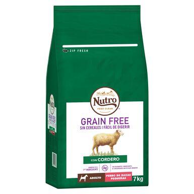 Nutro Grain Free Adulto mini cordeiro 7 kg