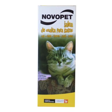 Novopet jalea de malta para gatos