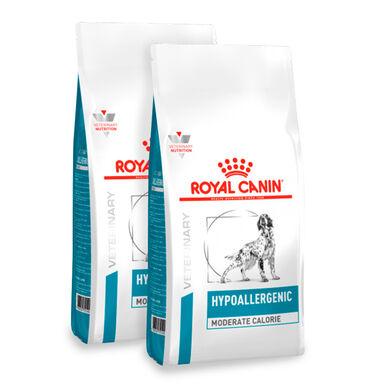 Royal Canin Veterinary Diet Hypoallergenic Moderate Calorie - 2x14 kg Pack Poupança