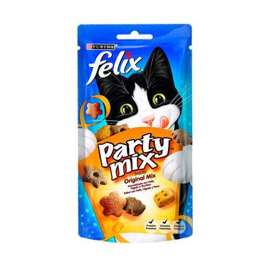 Snacks Felix Party para gatos 60 g