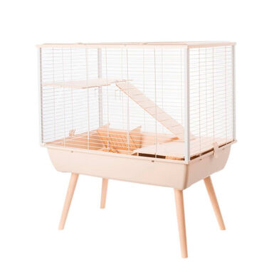 Gaiola Zolux Neo Muki H59 para coelhos e grandes roedores