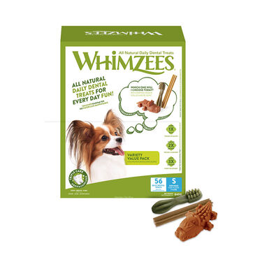 Whimzees pack variado Snacks dentales naturalespara perro