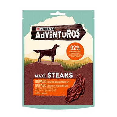 Adventuros Maxi Steaks Búfalo 70gr