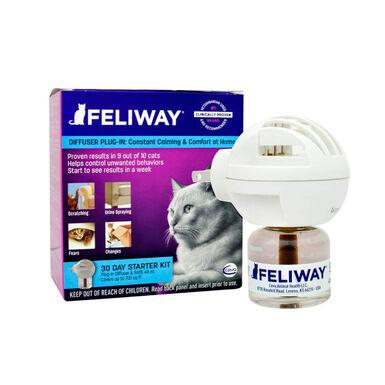Difusor com recarga Feliway para gatos