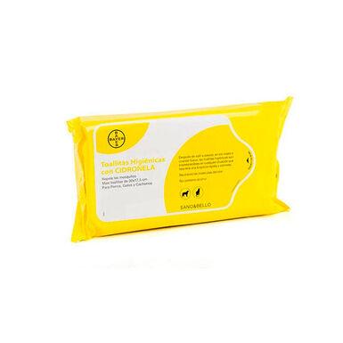 Toalhitas Higiénicas con Citronela Bayer