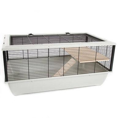 TK-Pet Wood jaula para hámster 2 pisos con rampa
