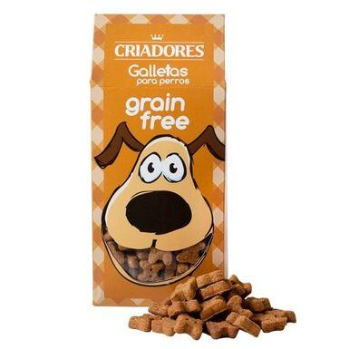 Criadores No Grain Puppy pato e laranja biscoitos para cachorros