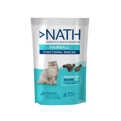 Nath Adult Hairball 50 gr Sanck para Gato