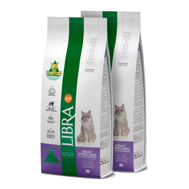 Libra Feline Sterilized - 2x15 kg Pack Poupança