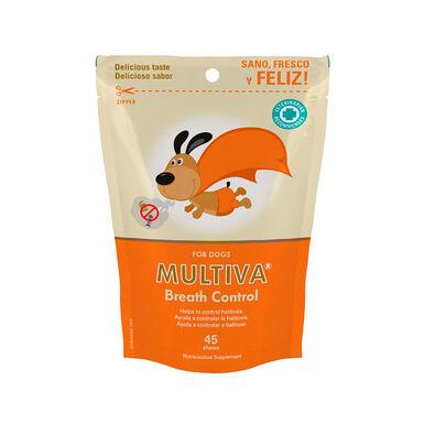 Multi-vitamínico para cães Multiva Controlo do Hálito