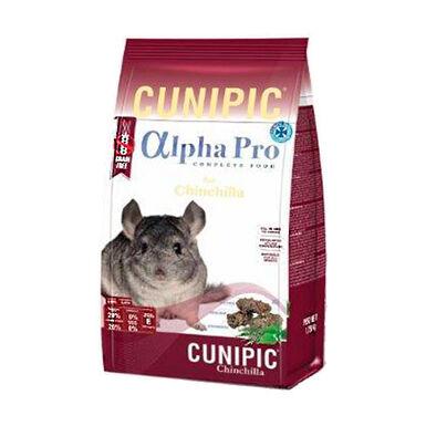 Cunipic Alpha Pro Grain Free comida chinchillas
