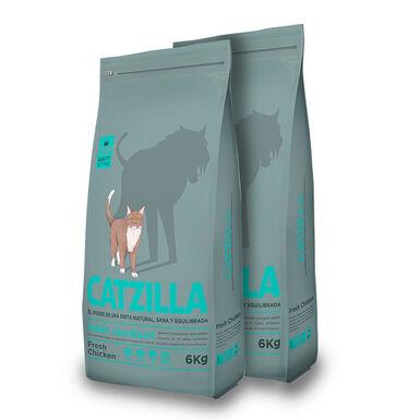 Catzilla Feline Adult Sterilised - 2x6 kg Pack Poupança