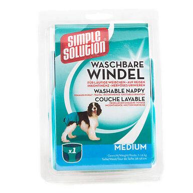 Fraldas de pano laváveis para cães Simple Solution