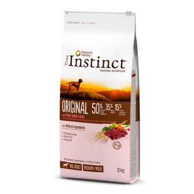 True Instinct Original Medium/Maxi Adult com borrego e aveia