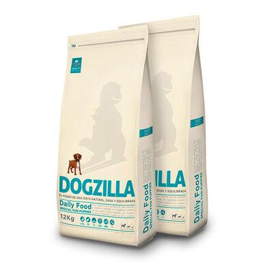 Dogzilla Puppy frango - 2x12 kg Pack Poupança