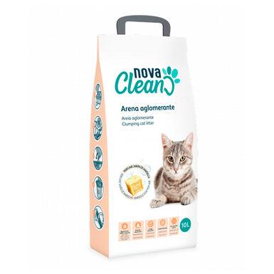Areia Aglomerante Nova Clean 10L para gato