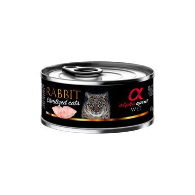 Alpha Spirit Sterilized alimento para gatos