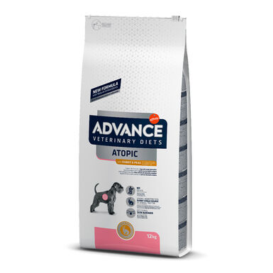 Affinity Advance Veterinary Diets Atopic Coelho e ervilhas