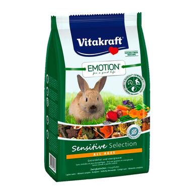 Alimento para Conejo Adulto Vitakarft Emotion Sensitive 600 gr