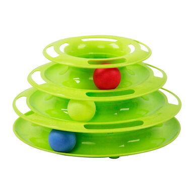 Brinquedo Pawise Torre com bolas para gato