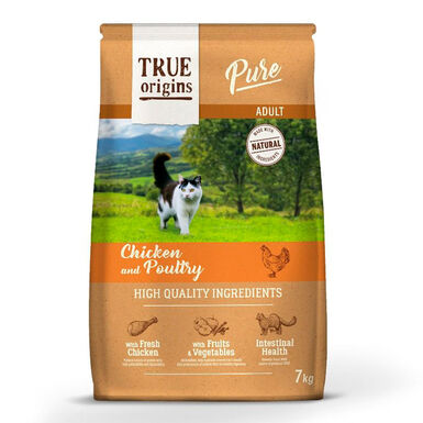 True Origins Pure Cat Adult Poultry Frango