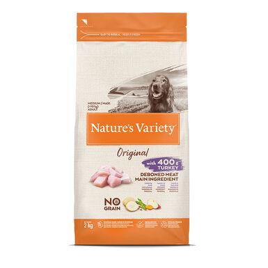 Nature's Variety Original Sin Cereales Medim Adult Pavo