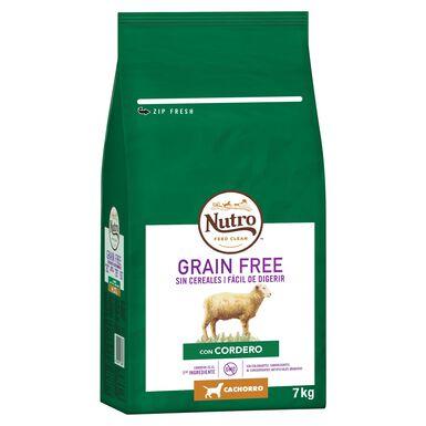 Nutro Grain Free Júnior raças de porte mediano sabor cordeiro