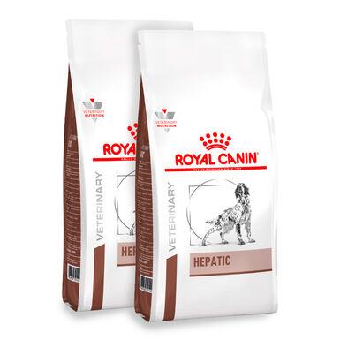 Royal Canin Veterinary Diet Hepatic - 2x12 kg Pack poupança