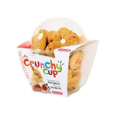 Crunchy Cup de Zolux Alfalfa, Remolacha y Zanahoria para roedor 200 g